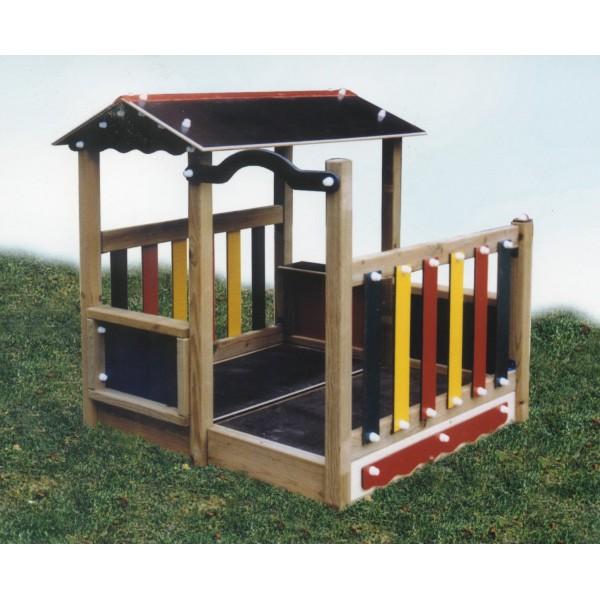 cabane pour enfant. Black Bedroom Furniture Sets. Home Design Ideas