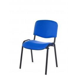 Chaise de reunion jess m3 pieds noir assemblable for Chaise 3 pieds