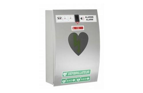 Armoire à défibrillateur