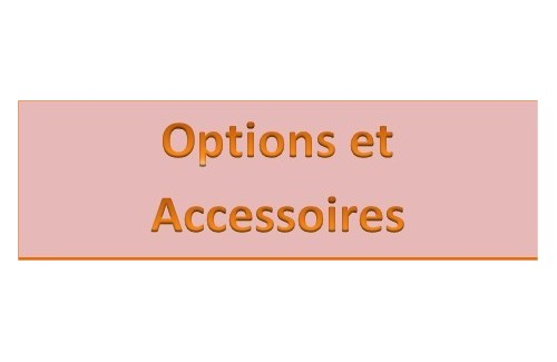 Options et accessoires