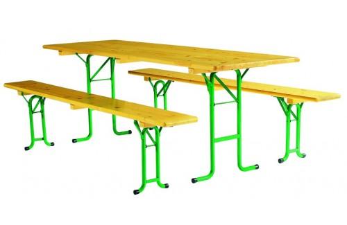 Tables et ensemble en bois
